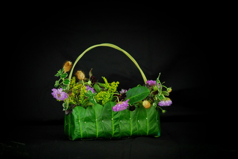Margot's demonstration flower 'bag'